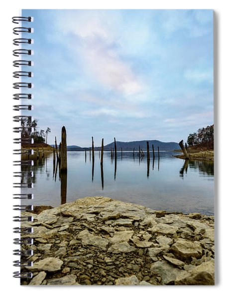 The Bottom Of The Lake Spiral Notebook