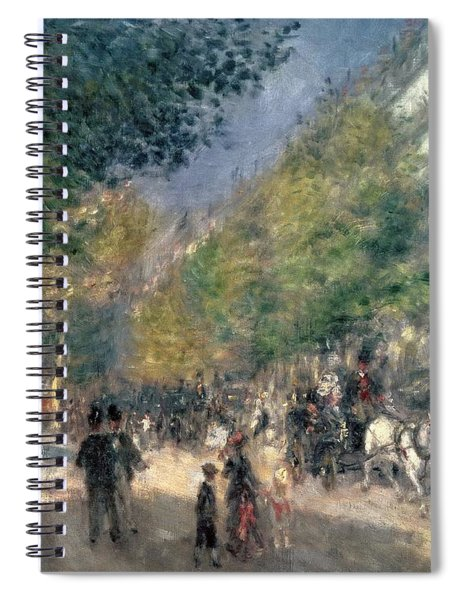 The Boulevards  Spiral Notebook