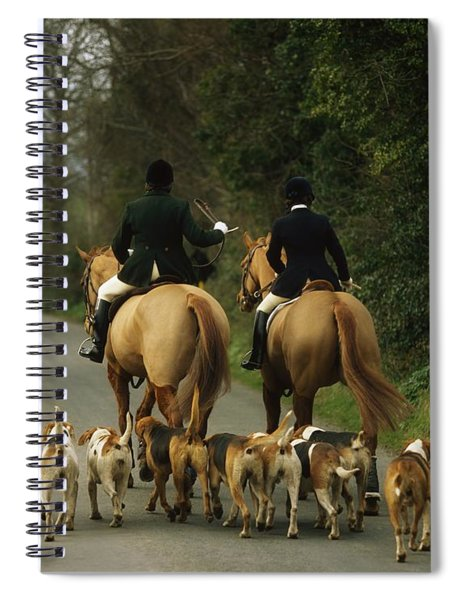 The Bray Harriers, Co Wicklow, Ireland Spiral Notebook