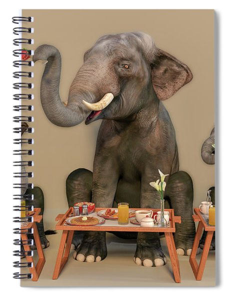 The Breakfast Lesson Spiral Notebook