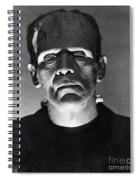 The Bride Of Frankenstein Spiral Notebook
