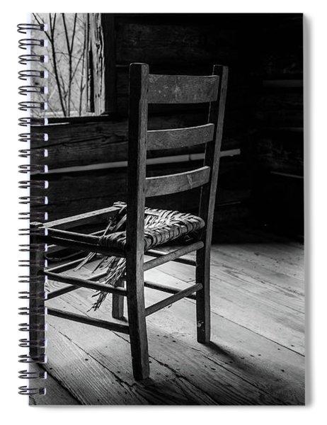 The Broken Chair Spiral Notebook