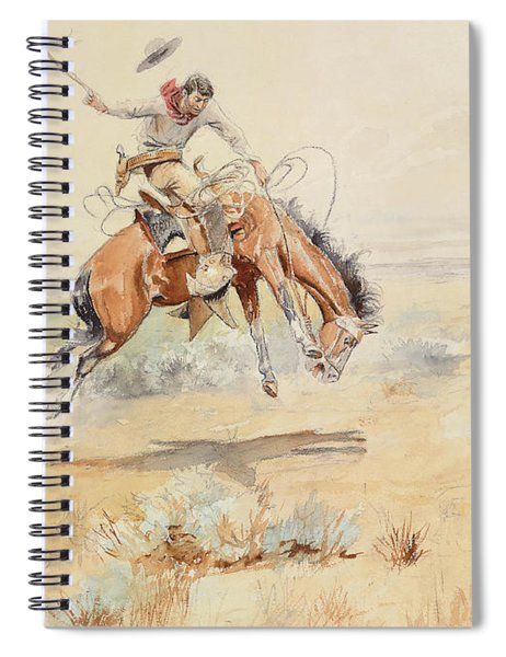 The Bronco Buster Spiral Notebook