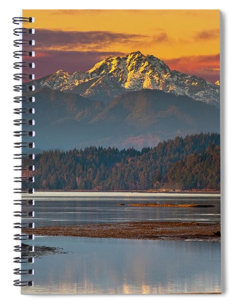 The Brothers From Hood Canal Spiral Notebook