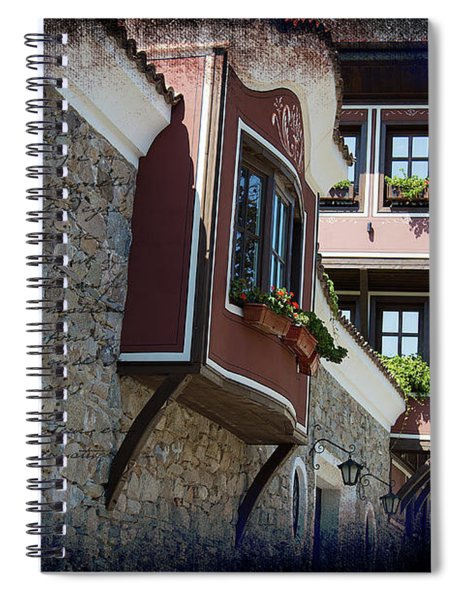The Brown House Spiral Notebook