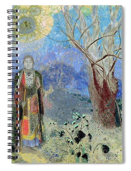 The Buddha Spiral Notebook