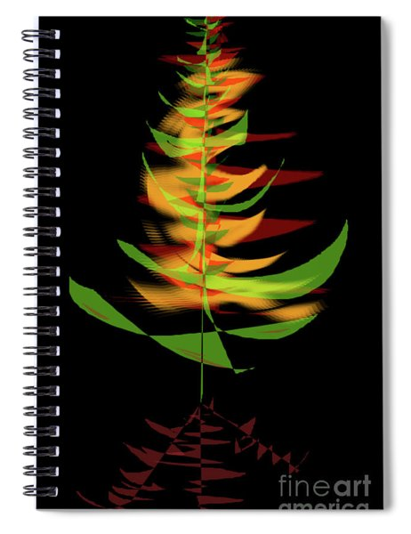 The Burning Bush Spiral Notebook