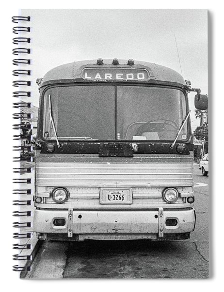 The Bus To Laredo Spiral Notebook