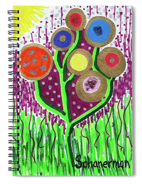 The Button Ball Tree Spiral Notebook
