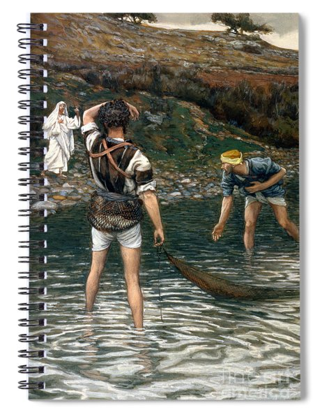 The Calling Of Saint Peter And Saint Andrew Spiral Notebook