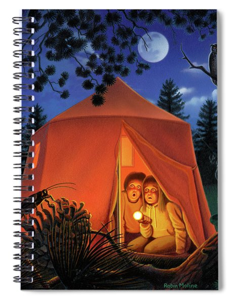 The Campout Spiral Notebook