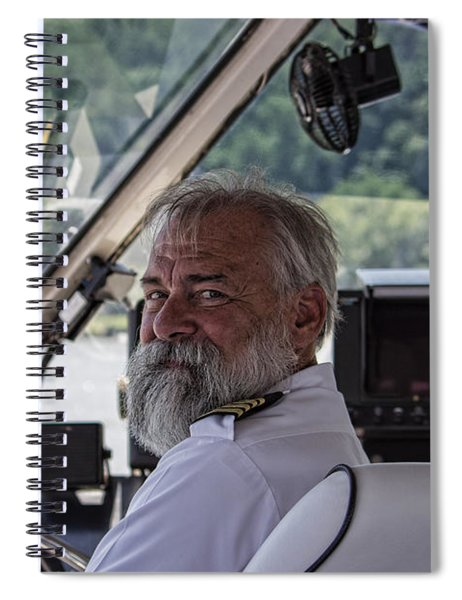 The Captain Spiral Notebook