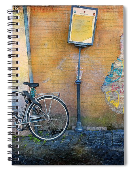 The Carnielli Bicycle Spiral Notebook