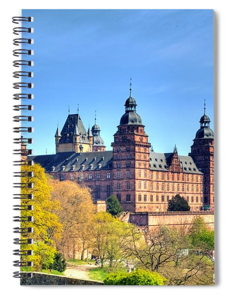 The Castle Johannisburg In Aschaffenburg In Germany Spiral Notebook