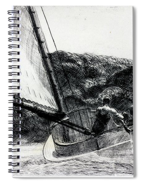 The Cat Boat Spiral Notebook