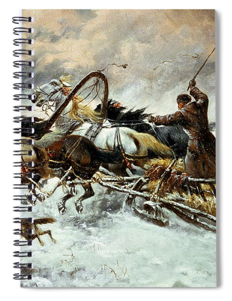 The Chase Spiral Notebook