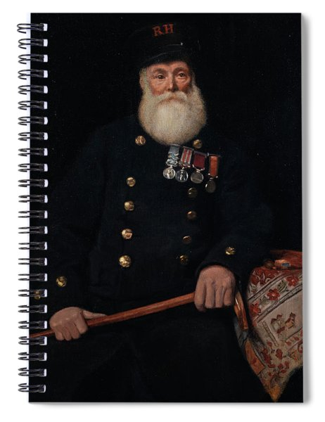 The Chelsea Pensioner Spiral Notebook