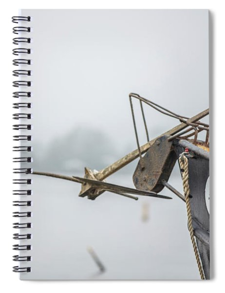 The Chief Shrimp Boat  Spiral Notebook
