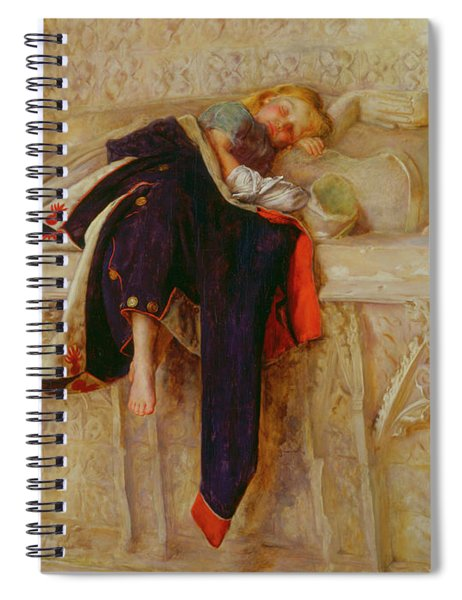 The Child Of The Regiment Spiral Notebook
