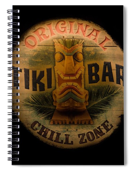 The Chill Zone Spiral Notebook