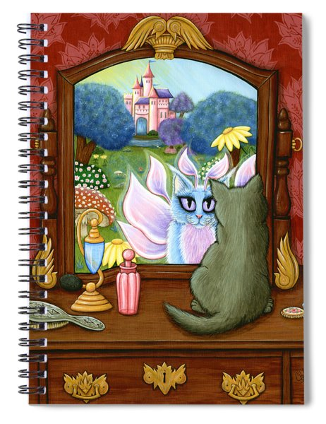 The Chimera Vanity - Fantasy World Spiral Notebook