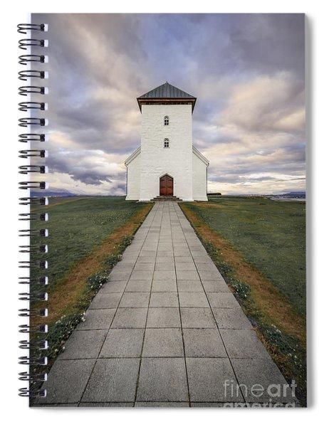 The Chosen Path Spiral Notebook