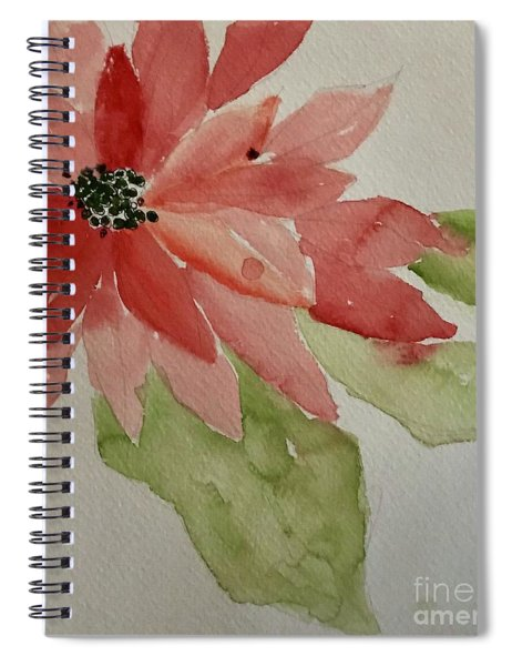 The Christmas Card Spiral Notebook
