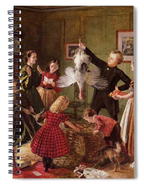 The Christmas Hamper Spiral Notebook