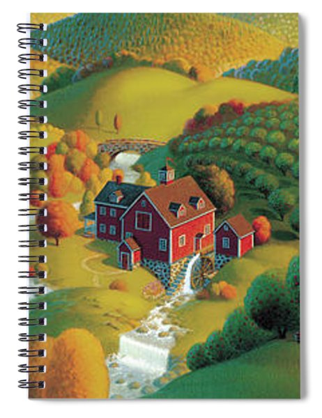 The Cider Mill Spiral Notebook
