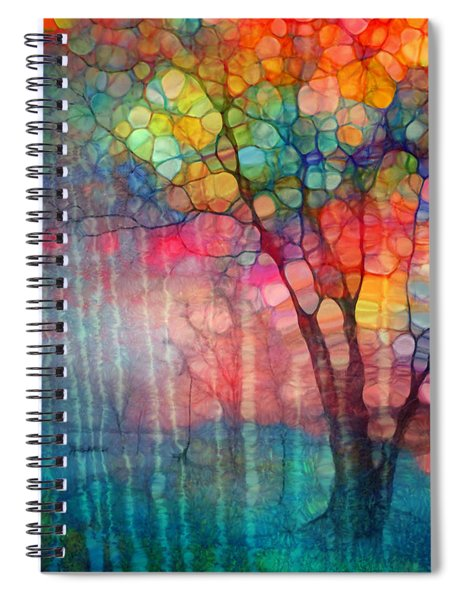 The Circus Tree Spiral Notebook