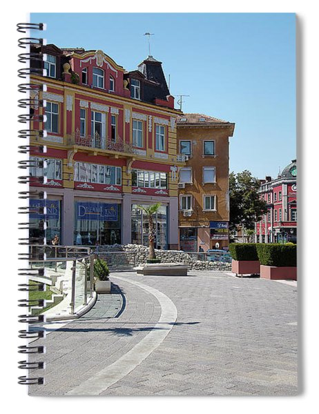 The City Of Seven Hills Spiral Notebook