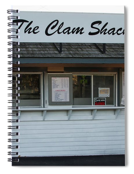 The Clam Shack - Kennebunkport Maine Spiral Notebook