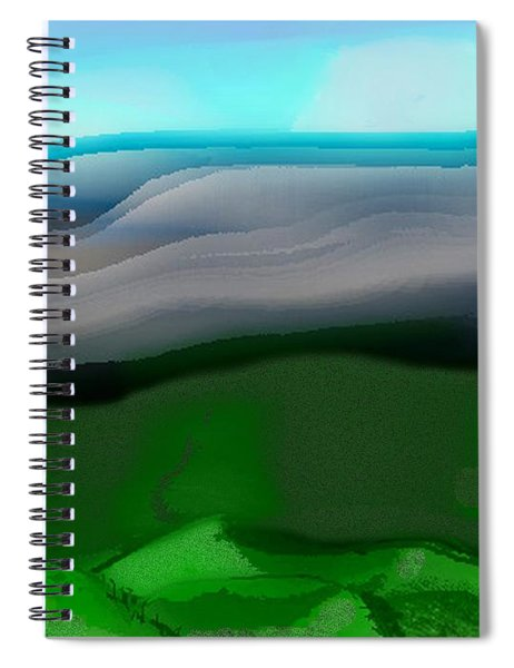 The Hilltop View Spiral Notebook