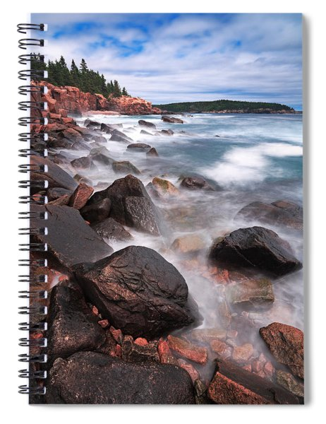 The Cliff   Spiral Notebook