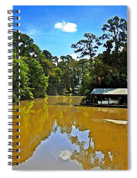 The Cold Hole Spiral Notebook