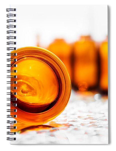 The Colour Of Amber I Spiral Notebook
