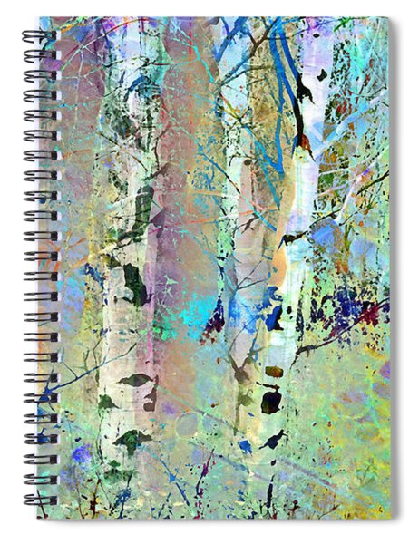 The Colouring Book In The Forest Spiral Notebook