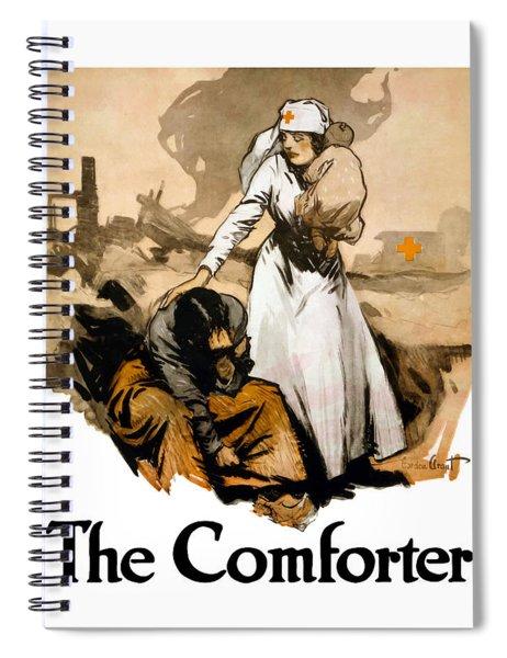The Comforter - World War One Nurse Spiral Notebook