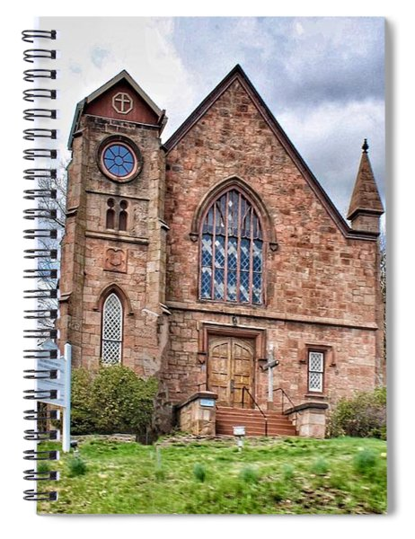 The Congregational Church  Of Northford, Ct Spiral Notebook