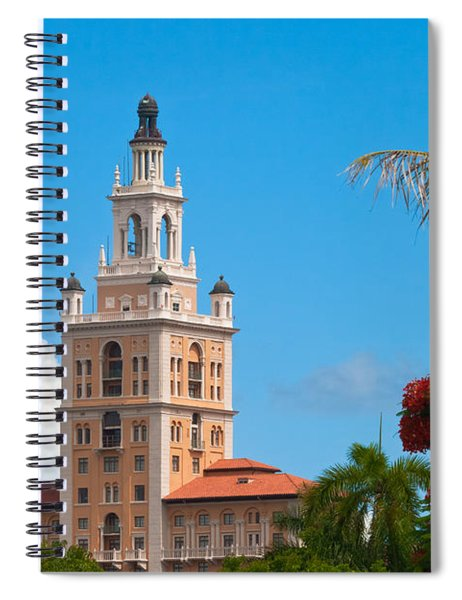 The Coral Gables Biltmore Spiral Notebook by Ed Gleichman