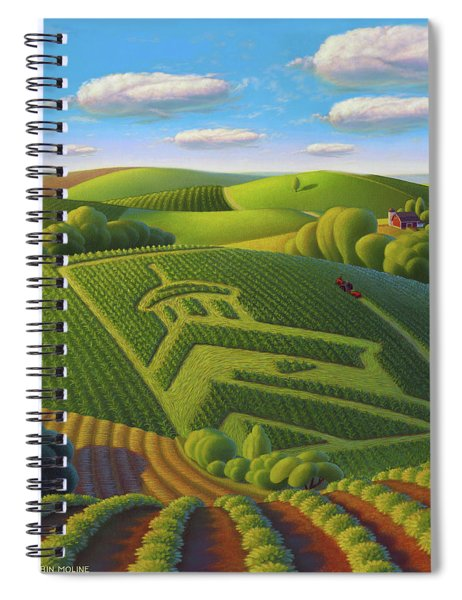 The Corn Palace Spiral Notebook
