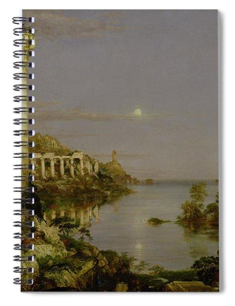 The Course Of Empire - Desolation Spiral Notebook