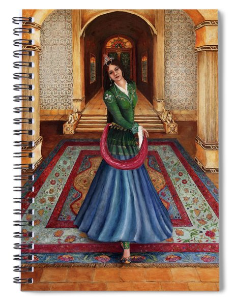 The Court Dancer Spiral Notebook