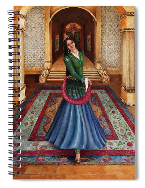 The Court Dancer Spiral Notebook