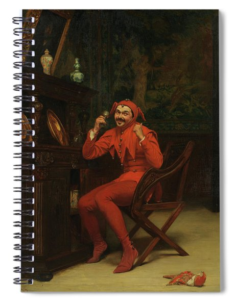The Court Jester Spiral Notebook