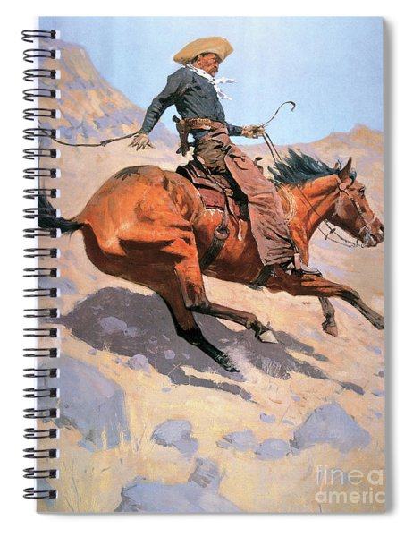 The Cowboy Spiral Notebook