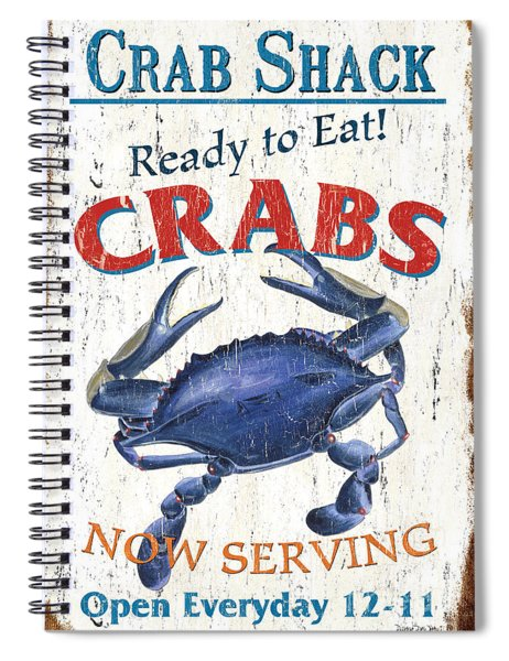 The Crab Shack Spiral Notebook
