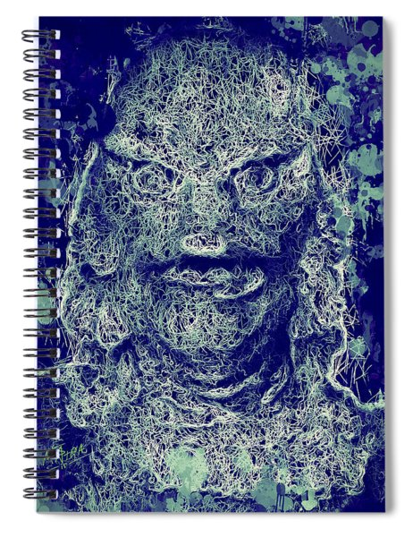 Creature From The Black Lagoon Spiral Notebook