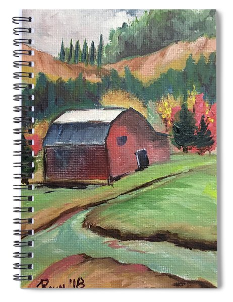 The Creek Spiral Notebook