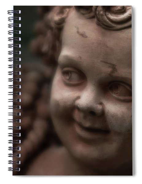 The Creepy Statue Spiral Notebook